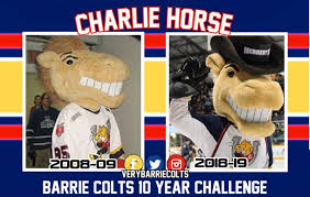Colts Depth Chart 2008 2008 09 Barrie Colts 10 Year Picture Challenge Ohl Very