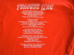 Teacher Man Teacher Maam A Concept A T Shirt A Song Part 1