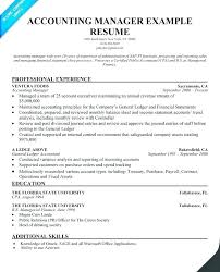 Accounting Manager Resume Examples Interesting Accounting Manager Resume Sample Doc Letsdeliverco
