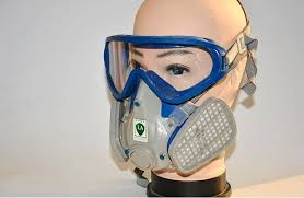 paint spray respirator gas mask silicone full face respirator pesticides carbon filter mask