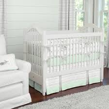 bedding greynd mint teen gray mintbaby nursery setgrey