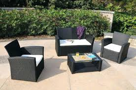 wicker patio furniture. Outdoor Rattan Patio Furniture Decor Of Black Wicker Sets Pertaining To I