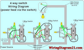 3 Way Wire Diagram Wiring Two 3-Way Switches