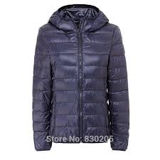 women s down jackets 90 ultra light duck down portable outdoor winter coat hooded female parka plus xl