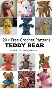 Easy Crochet Teddy Bear Pattern Interesting Design Inspiration