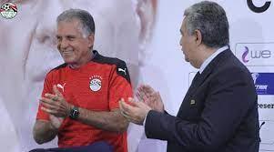 الاتحاد المصري لكرة القدم يقدم مدرب المنتخب الجديد كارلوس كيروش - 2M