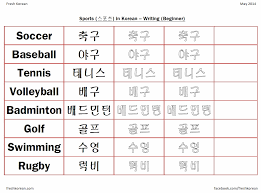 Korean Language Worksheets Worksheets for all | Download and Share ...