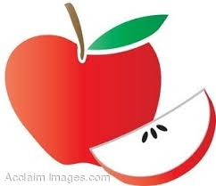 red apple clipart. pin seed clipart apple #4 red