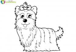 Puppy Hondje Kleurplaat Mandala Kleurplaat Voor Kinderen