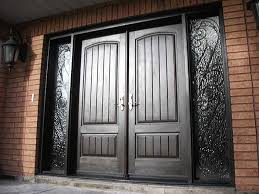elegant double front doors. Elegant Rustic Double Front Doors With Modren Door To Inspiration Decorating