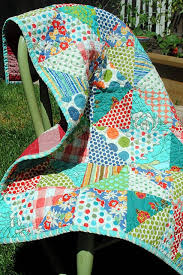 792 best COLOR QUILTS images on Pinterest   Patchwork, Circles and ... & cute easy quilt · Bright ColorsHappy ... Adamdwight.com