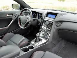 hyundai genesis interior. Plain Hyundai 2015 Hyundai Genesis Coupe 38 RSpec RWD R For Interior E