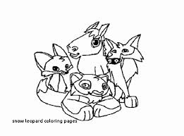 The Leopard Coloring Pages For Kids And Coloring Pages Snow White
