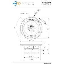 4 ohm dvc subs wiring diagram 4 wiring diagram database amazon pair faital pro 6fe200 65 quot midrange woofer voice