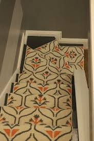 finished carpet runner staircase