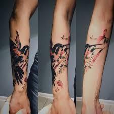 тату в стиле акварель значение эскизы фото и цены сколько стоит