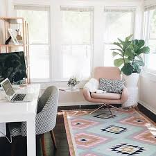 Design A Home Office Stunning Decor For Home Office Pink And Blue Pastels Desk With Gray Chair
