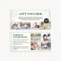 Photography Gift Certificate Template Classic Photography Gift Certificate Template Strawberry Kit