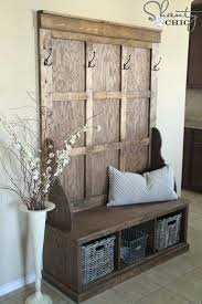 Coat Rack And Storage Stunning Entryway Coat Hanger Clothing Hooks Entryway Coat Rack Made From