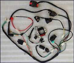 full electrics wiring harness cdi coil kill switch cc cc cc full electrics wiring harness cdi coil kill switch 50cc 70cc 110cc 125cc atv quad pit bike