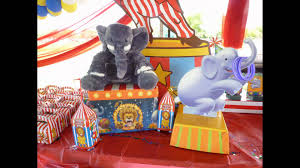 circus decoration for birthday party in a park dreamark events dreamarkevents you