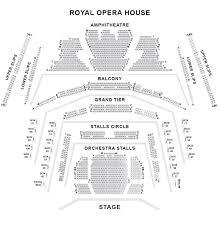 Royal Opera House Seating Plan Londontheatre Co Uk