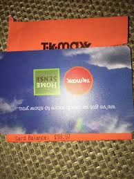 t k ma and home sense gift card worth 99 97 1 of 1 see more