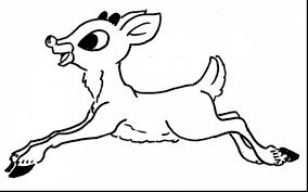 Small Picture incredible rudolph the red nose reindeer coloring pages with