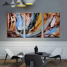 framed abstract wall art set handmade oil painting stunning wave ready to hang on canvas wall art sets diy with pin by artland on canvas wall art pinterest walls