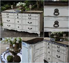 Painting French Provincial Bedroom Furniture Painted French Provincial Triple Dresser Accented With Modern