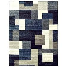 blue gray brown area rug beachborough yellow block home decor rugs furniture good looking alluring blu