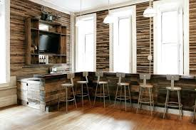 stacked wood wall stacked wood wall home bar rustic with traditional window and door trim stacked stacked wood wall
