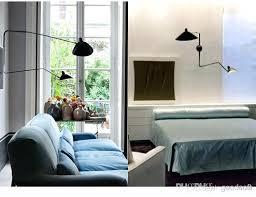 arm ceiling light multi with shades serge three lights modern creative fashion black lighting pretty thr