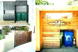 trash can enclosure kit trash can storage shed plans outdoor trash can storage shed enclosure kit home garbage plans trash can storage
