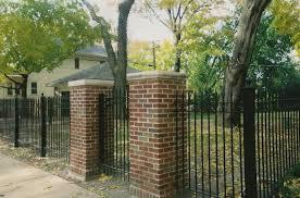 Brick Columns Chicago IL Top Line Fence