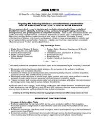 marketing resume template and sample online marketing resume sample