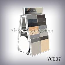 A Frame Display Stands stone sample A frame rack for stone and tiles Xiamen Victor 28