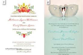 Free Downloadable Wedding Invitation Templates Editable Wedding Invitation Templates Free Download Songwol 57
