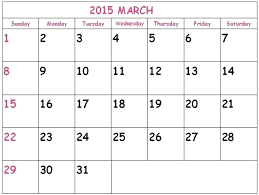 Template Monthly Calendar 2015 Template For Calendars 2015 Theredteadetox Co