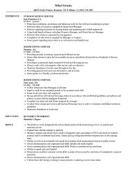 Fine Dining Server Resume Room Dining Server Resume Samples Velvet Jobs