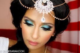 princess jasmine makeup hair tutorial