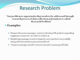 Research Problem Statement Examples Research Proposal Statement Of The Problem Example