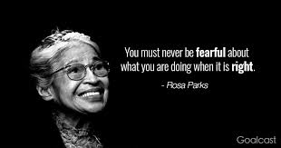 Rosa Parks Quotes Magnificent 48 Rosa Parks Quotes To Teach You How To Stand Your Ground