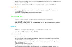 Amazing Resume Complete Sentences Ideas Example Resume And