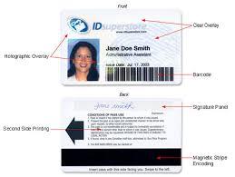 sample id cards custom cards ids