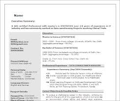 Statistical Programmer Sample Resume Awesome SAS Programmer Developer Free Resume Template