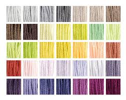 Dmc Color Chart 2017 Dmc S 1 35 New 2017 Colors Hand Collated Set