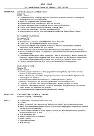 Sample Cardiac Nurse Resume Rn Cardiac Resume Samples Velvet Jobs