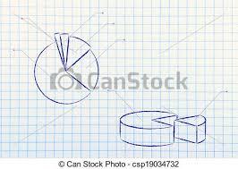 Business Stats Pie Chart Graph