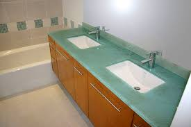 glass vanity countertop 1
